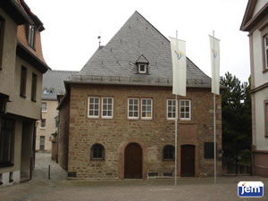 "The ""Rashi Shul"" in Worms, Germany"