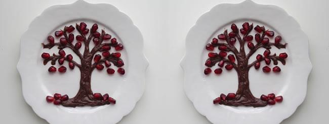 Crafts: Tu B'Shevat Fruit Plates