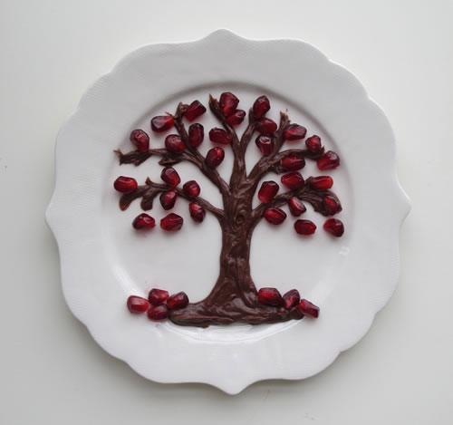tu b u2019shevat fruit plates