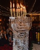 Old City Public Menorah Lighting (Fire on Ice)