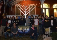 Chanuka album 5 - AEPi BBQ and grand Lighting