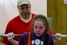 'Strongest Girl in the World' Lifts Spirits Along With Weights