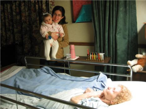 Menorah in hospital2