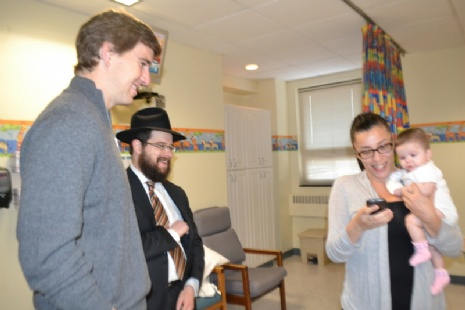 Hospital visits with Eli Manning