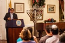 Chanukah with the Governor 2013