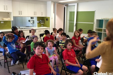 Chabad ACT recently established an after-school Jewish educational program for children ages 5 to 12, with a simultaneous group for 2- to 5-year-olds.