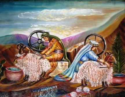 """© ציורי התנ""""ך מאת אהובה קליין"""