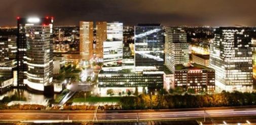 Amsterdam South - financial district - Zuidas