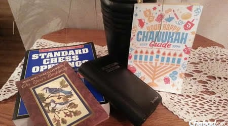 Jeffrey Gollinger's few remaining possessions. The only possible clue to his identity, other than his name, was a Chanukah guide that he had kept.