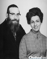 Rabbi Yechezkel and Mrs. Keny Deren