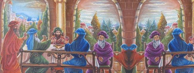Kedoshim Art: The Korban Shlamim