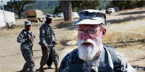Rabbi Jacob Goldstein, a colonel in the U.S. Army Reserve, has worn a beard since he joined in 1977.