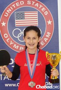 Estee Ackerman, last year's first-place winner