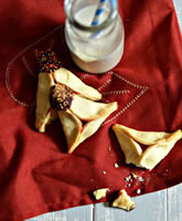 Chocolate-Dipped Cream Cheese Hamantaschen