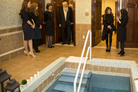 Entertainer Paula Abdul Helps Celebrate the Mitzvah of Mikvah