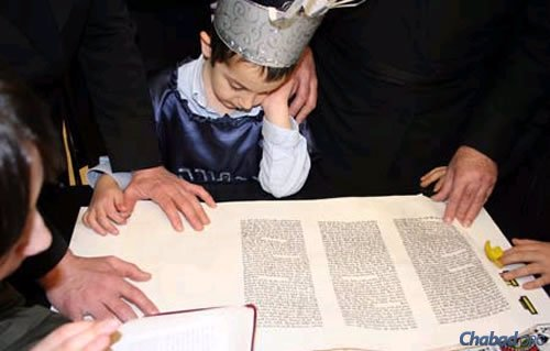 Whatever the age, it's never too early (or late) in life to learn to chant the Megillah.