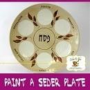 Paint-A-Seder Plate