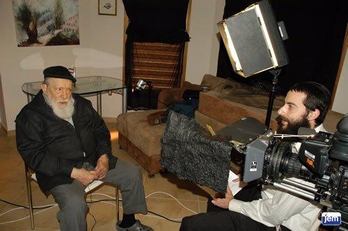 El Rabino Najman Bernhard en una entrevista para JEM