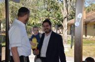 Rabbi's Surprise 30th Birthday