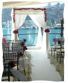 The chuppah (wedding canopy)