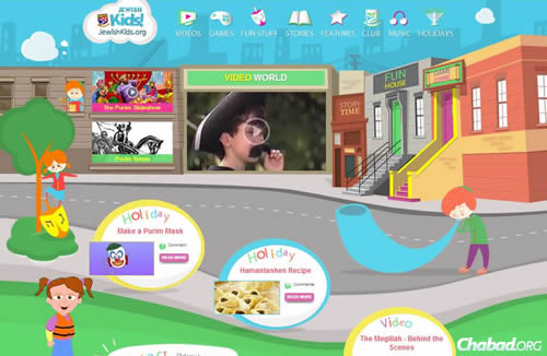JewishKids.org has received a major makeover. The changes have more than tripled traffic to the already popular site, with more good things to come for kids and parents alike.