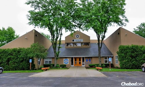 The Chabad center in Northbrook, Ill.
