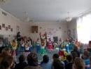 Пурим-шпиль в детском саду «Хабад»