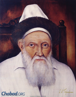 "Rabbi Menachem Mendel, known as the ""Tzemach Tzedek,"" was the third Rebbe of Chabad, and the great-grandfather and namesake of the Rebbe. (Photo: JEM)"