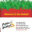 Sukkot - Pizza in a Hut 2013
