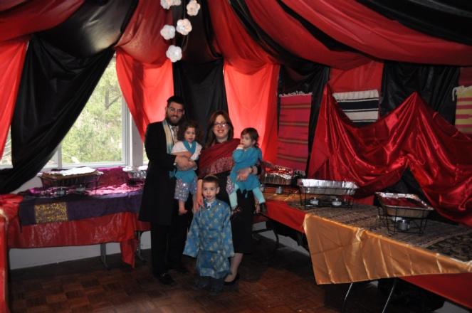 Purim 5774 Family Pic