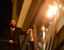 Chanukah Menorah lighting '13