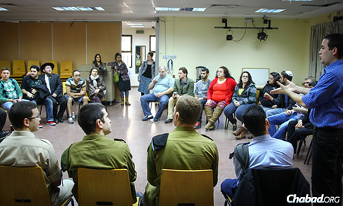 The group met with members of Israel's military, discovering that the nation is one of the few in the world—perhaps the only one—to employ deaf soldiers.
