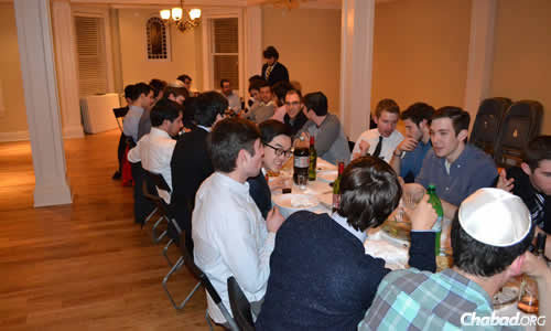 Group of AEPi Brothers Take Their Judaism on the Road