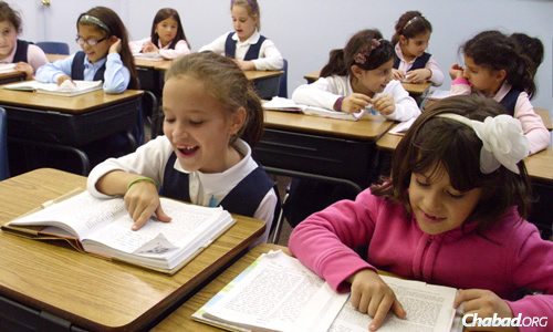 Students at the Hebrew Academy Community School in Margate, Fla. A significant portion of the children who attend receive financial aid from both the school and a state fund that Jewish leaders are hoping a new bill will increase.