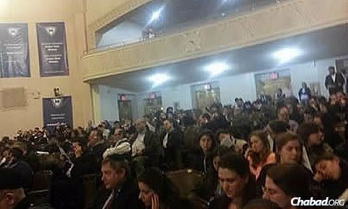 A crowd of several hundred people came to hear from event speakers about the similarities and differences between two exceptional scholars, innovative thinkers and great leaders, whose global influence continues to flourish.
