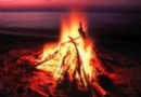 Lag B'Omer - Bonfire at the Beach