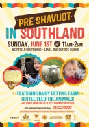 Pre-Shavuot in Southland for kids