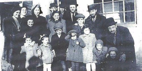 תמונה משפחתית לאחר השואה והאיחוד הניסי