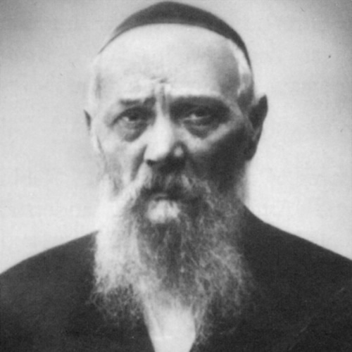 This photo of Rabbi Levi Yitzchak Schneerson was taken during his imprisonment.