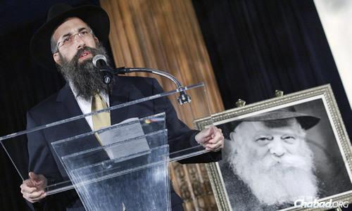 Rabbi Yehuda Shemtov (Photo: Levi Sherman)