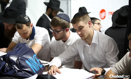 People all walks of life were at the Ohel.