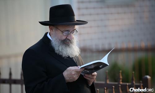Chabad-Lubavitch emissary Rabbi Yehuda Leib Schapiro. (Photo: Chaim Perl)