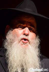 Rabbi Moshe Kotlarsky, vice chairman of Merkos L'Inyonei Chinuch, the educational arm of Chabad-Lubavitch (Photo: Baruch Ezagui)