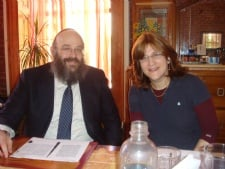 Rabbi and Mrs. Kugel