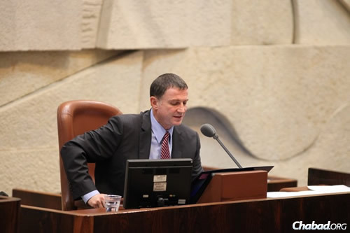 Speaker of the Knesset Yuli Edelstein (Photo: Itzik Harari, Knesset)
