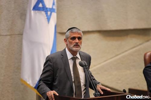 MK Eli Yishai (Photo: Itzik Harari, Knesset)