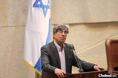 MK Shimon Ohayon (Photo: Itzik Harari, Knesset)