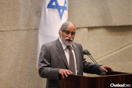 MK David Rotem (Photo: Itzik Harari, Knesset)