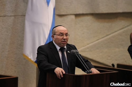 MK Avraham Michaeli (Photo: Itzik Harari, Knesset)