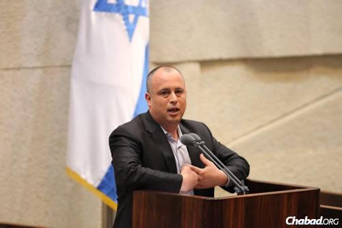 MK Yehiel Hilik Bar (Photo: Itzik Harari, Knesset)